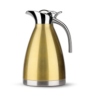 1510ml Vacuum Insulated Carafe - Stainless Steel Thermal Carafe / 8-cup Thermal Coffee Carafe / 12 Hour Heat Retention