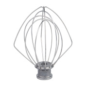K45WW Wire Whip for Tilt-Head Stand Mixer for KitchenAid, Stainless Steel Egg Cream Stirrer, Flour Cake Balloon Whisk, Easy for Kitchen and Life