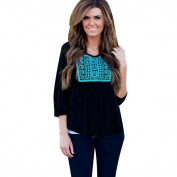 Womens Long Sleeve Shirt Casual Blouse Fashion Loose Tops T Shirt
