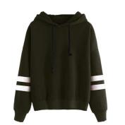 Jumper Hooded Pullover Tops ,Womens Long Sleeve Hoodie Sweatshirt
