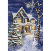 Alonea Christmas Diamond Rhinestone Pasted Embroidery Painting Cross Stitch Home Decor