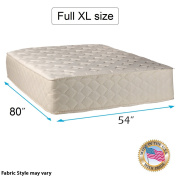 """Highlight Luxury Firm Full XL Size (140cm x 200cm x 14"""") Mattress Only - Fully Assembled - Spinal Back Support, Innerspring Coils, Premium edge guards, Longlasting Comfort by Dream Solutions USA"""