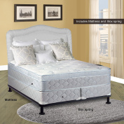 Spinal Solution Mattress, 25cm Pillowtop Eurotop , Fully Assembled Othopedic Twin XL Mattress and 20cm Split Box Spring,Luxury Collection