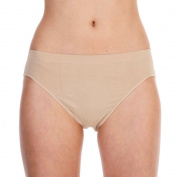 SILKY LADIES DANCE Seamless Ballet High Cut Briefs UnderwearKnickers Nude Flesh