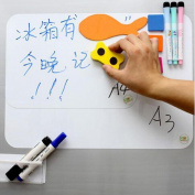 SKL A3 A4 Magnetic Dry Erase White Board For Fridge Refrigerator Message Board whiteboard sheet memo board noticeboard with free Pen & Eraser (A4