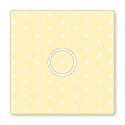 POLKA DOTS PATTERN UK LIGHT SWITCH STICKERS, KITCHEN LIVING ROOM DECORATING