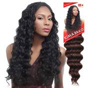 Harlem125 Synthetic Crochet Hair Kima Braid - OCEAN WAVE 50cm