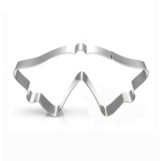 WJSYSHOP Double Bell Cookie Cutter for Christmas Wedding - Stainless Steel
