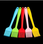 ZJKC Large Size Cooking Kitchen Bakeware Pastry Oil Brush Food Silicone Basting Pastry Oil Brushes, Heat Resistant BBQ Brush,Dishwasher