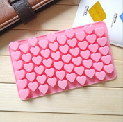 55 Mini Love Silicone Pudding, Jelly Cake Mousse Mould Ice Cube Tray Kitchen DIY Baking Mould