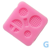 LINGERY Various Shape Silicone Cake Mould Cake Decorating Moulds Tools