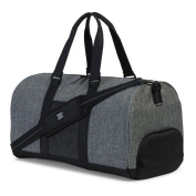 Herschel Supply Co Novel Aspect Duffle Bag Holdall Raven Crosshatch/Black Pocket