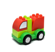 Car Building Blocks for Baby . old - Mail truck - Creative Baby Toys