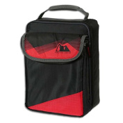 Expandable HardCore Lunch Pack Box - Black & Red