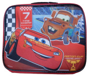 Disney Pixar Cars Insulated Lunch Bag Mater and 7 Time Champ Lightning McQueen