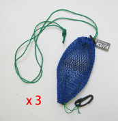 KUFA Sports commercial style bait bag with rubber locker and hook 3Pcs set