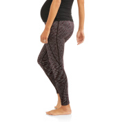 Labour of Love Maternity Textured Yoga Space Dyed Ankle leggings-- available in plus size
