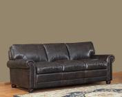 Lazzaro Genesis Sofa, 91 by 100cm by 90cm , Brompton/Chocolate