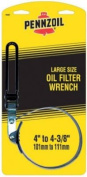 Custom Accessories 19401 Extra-Large Pennzoil Oil Filter Wrench, Swivel Handle