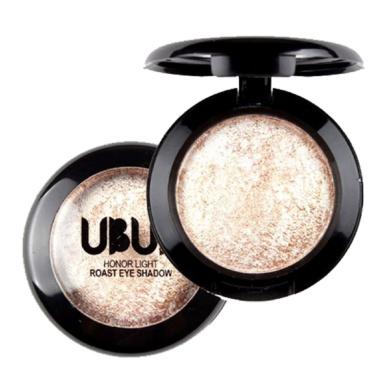 Putars Single Natural Nudes Baked Eye Shadow Powder Palette Shimmer Metallic Eyeshadow Palette