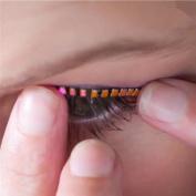 Ecosin False Eyelashes LED Eyelashes Eyelid For Fashion Icon Saloon Pub Club Bar Party