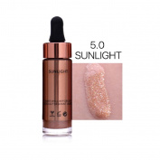 Willsa 6 Colours Highlighter Make Up Concealer Shimmer Face Glow Liquid Highlighter Makeup Eye Shadow