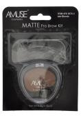 Amuse Matte Pro Brow Kit - Brunette