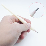 10pcs/pack Disposable Microblading Manual Pen With Needle Permanent Makeup 21 Round Blades