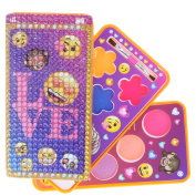 Townley Girl Emoji Sparkly Lipgloss Set For Girls in Cell Phone Carrying Case, Mulitple Flavours