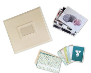 Fotovive Baby is Here First Year Photo Album, Ivory