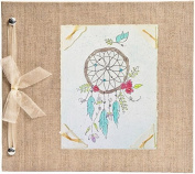 Hugs and Kisses XO Dream Catcher Baby Memory Book