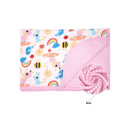 CuteOn Baby/Toddler Girls/Boys Blanket - 24 Rainbow
