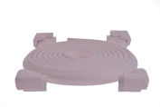 Pink Lavender (Light Purple) Child Safety Corner and Edge Protector Cushion Guard, Baby Proofing Table and Furniture Safety Bumpers - Over 5.8m of Coverage, More than 4.9m of Edge and 8 Corners