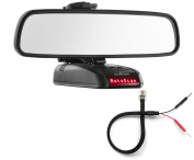 Mirror Mount Bracket + Mirror Wire Cord - Beltronics RX STI GX65