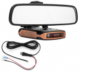 Mirror Mount Bracket + Direct Wire Cord - Beltronics GT-7