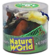 18pc FARM ANIMALS IN TUB