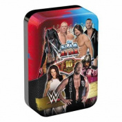 Topps WWE Slam Attax 10 Trading Card Collector Mega Tin 16/17 With Limited Edition