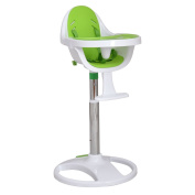 New MTN-G Green Pedestal Baby High Chair Infant Durable Feeding Dining Table Safety Seat