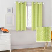 Mainstays Kids Green Polka Dot Coordinating Window Curtain