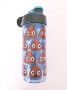 POOP EMOJI BPA FREE Water Bottle 470ml USA Seller Emoji Movie