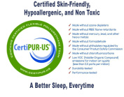 NapYou OFFICIAL Shredded Certipur Memory Foam Reading Pillow with Unique and Luxury Pillow Design for Ultimate Breathability and Density