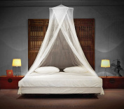 LUXURY MOSQUITO NET - for Single to King Size Beds - by Timbuktoo Mosquito Nets - Quick and Easy Installation System - Unique Internal Loop - 2 Entries - Ripstop Stuff Sack - No Added Chemicals.