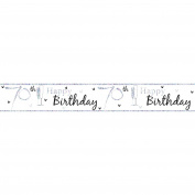 Simon Elvin Happy 70th Birthday Foil Party Banner (One Size)