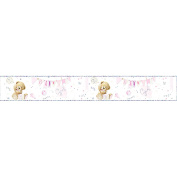 Simon Elvin Baby Boys/Girls Foil Baby Shower Party Banner (One Size)