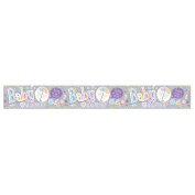 Expression Factory Baby Shower Holographic Foil Banner (One Size)