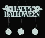 Halloween Pumpkin Banner Pumpkin Ornament Photo Props Hanging Decorations Party Signs Accessory