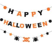Happy Halloween Garland Banner