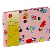Nakabayashi Co.,Ltd Japanese Designed Photo Album 40 pockets Hold 4 by 6 Photos, MAIKO