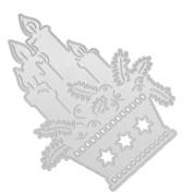 Little Angel Cutting Dies,Flower Metal Cutting Dies Stencils DIY Scrapbooking Album Paper Card Craft By Dacawin