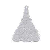 "cutting dies ,StyLeShop 1PC Christmas Tree Cutting Dies Stencils DIY Scrapbook Album Paper Embossing Craft,6.4x9.1cm/2.52""x3.58"""